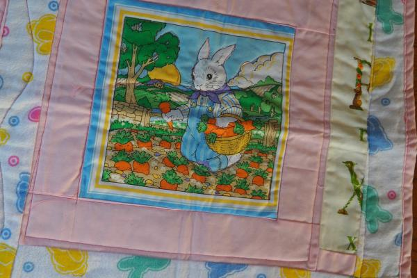 Peter Rabbit Dolly Quilt