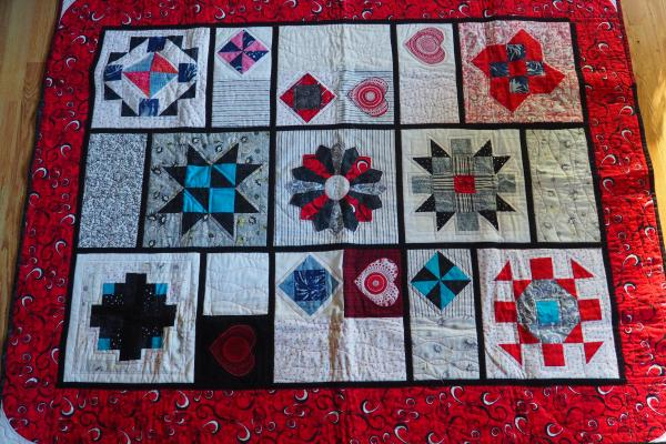 Sampler Quilt As You Go
