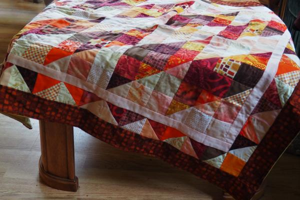 Autumn Leaves Table Cloth